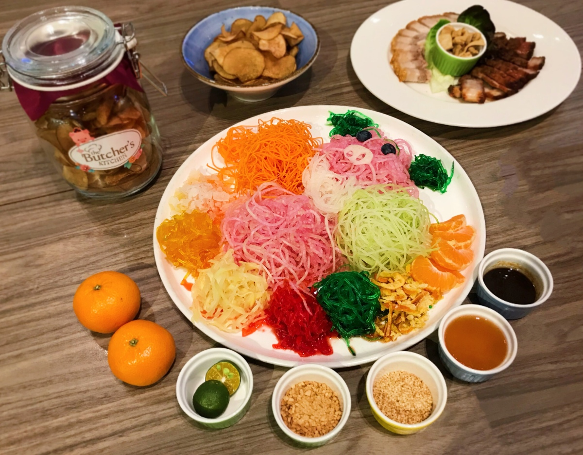 Butcher Kitchen Yusheng : Usher In The New Year of the Pig With Pork Yusheng From The Butcher?s Kitchen ? A L A I N L I C ...