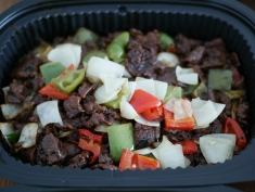 Poultry - Black Pepper Beef with Bell Peppers