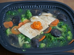 Vegetable - Australian Broccoli with Smoked Gui Fei Abalone