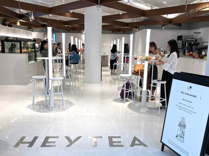 HeyTea New Outlet at Clarke Quay Has Alcoholic Iced Teas and Desserts