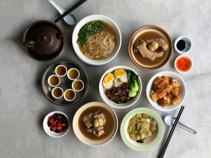 Enjoy a Free Pot of Kung Fu Tea at NG AH SIO Bak Kut Teh