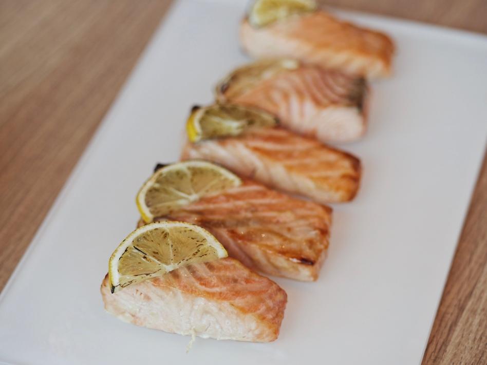 Doenjang Glazed Salmon