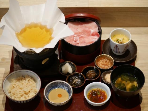 Shabu Shabu Set Lunch (Hokkaido Pork Loin ($29++)