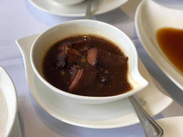 Braised Pork Belly with Dark Soya Sauce