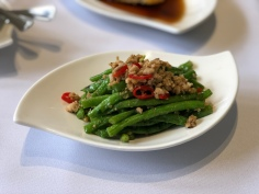 Stir Fried French Beans with Dried Shrimps