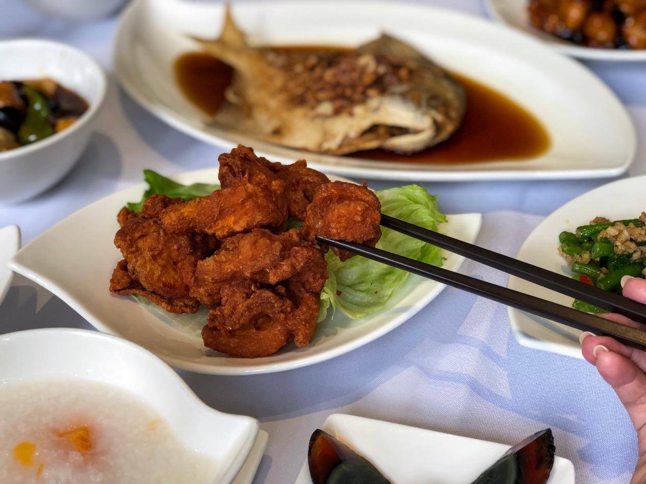 Fried Chicken with Prawn Paste