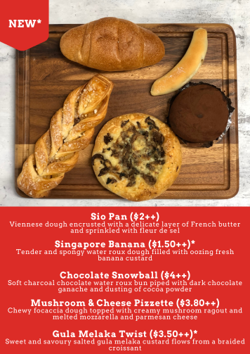 Antoinette's new breads and viennoiserie