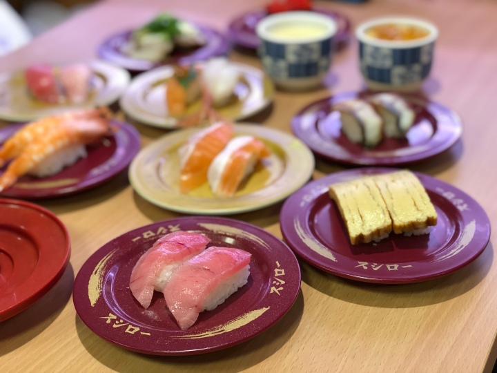 Largest Kaiten Sushi Chain from Japan: Sushiro スシロー Open in Singapore